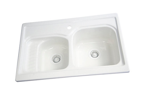 Acri tec prestige acrylic kitchen sink the home depot canada prestige acrylic kitchen sink workwithnaturefo