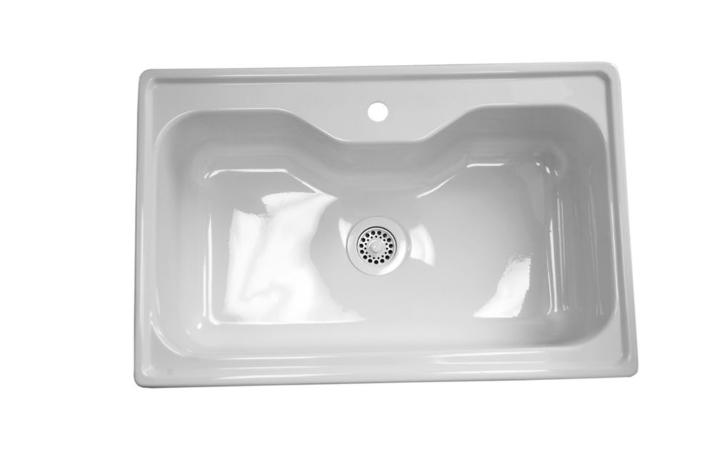Acri-Tec Urban Acrylic Kitchen Sink The Home Depot Canada