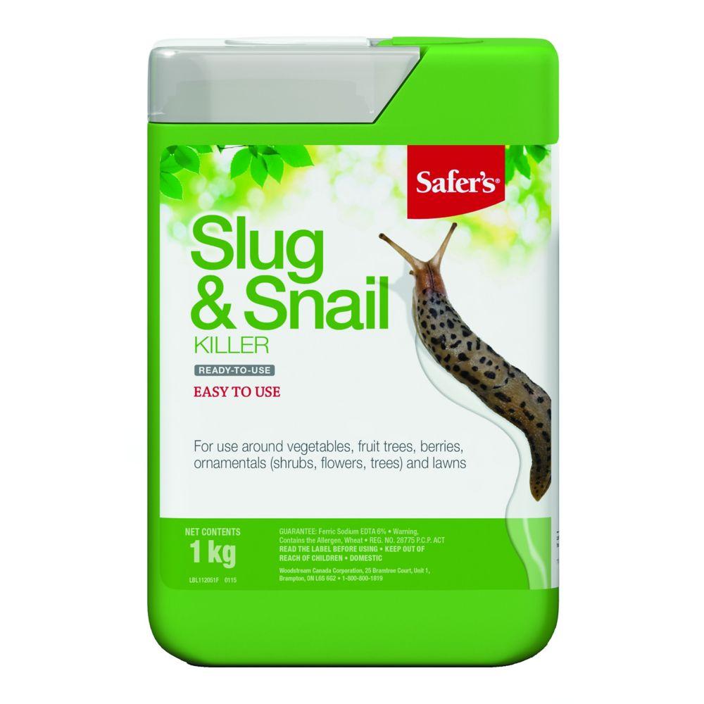 Tue limaces et escargots Slug & Snail Killer de Safer's - 1 kg