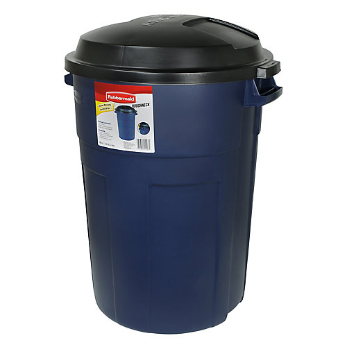 Roughneck 98L Trash Can