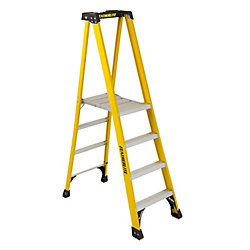 Featherlite fibreglass platform step ladder 4 Feet  grade IA
