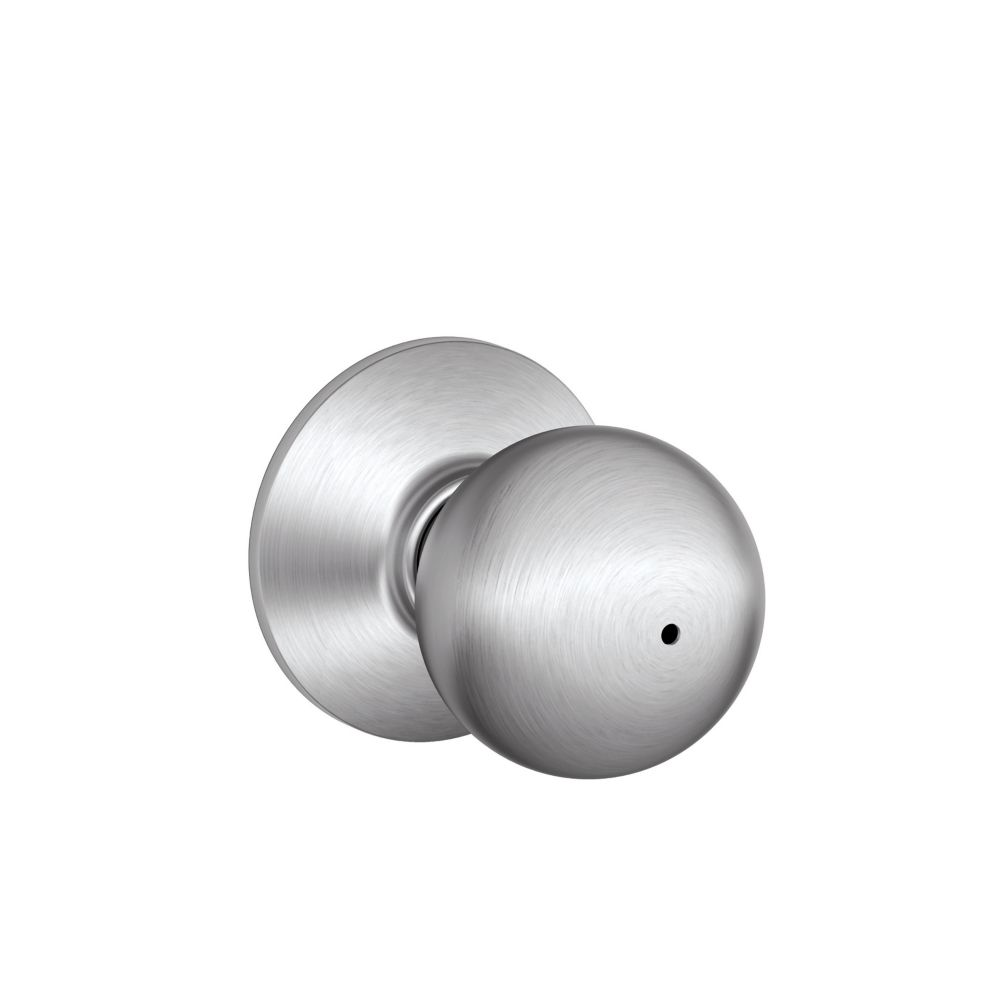 Orbit Satin Chrome Commercial Locking Door Knob