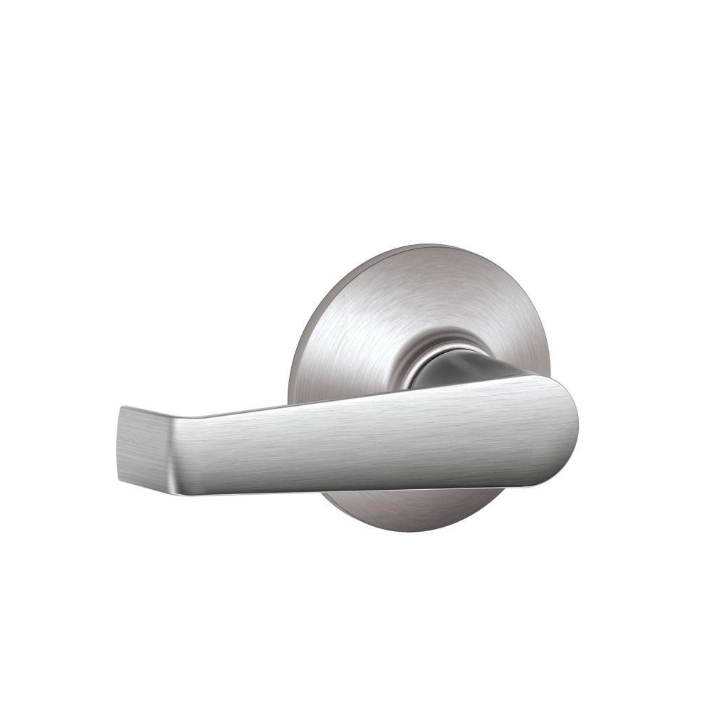 Elan Satin Chrome Commercial Non-Locking Door Lever