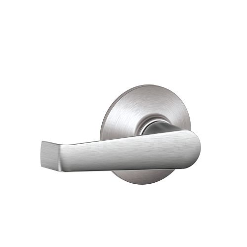 Schlage Elan Satin Chrome Commercial Non-Locking Door Lever
