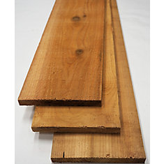 1x6x8' #2 & Better Cedar No Hole S1S2E Boards