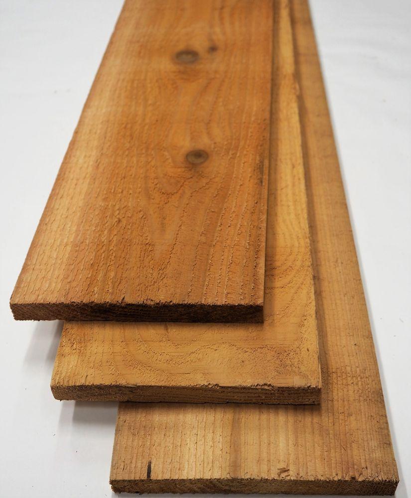 Porcupine 1x6x8' #2 & Better Cedar No Hole S1S2E Boards