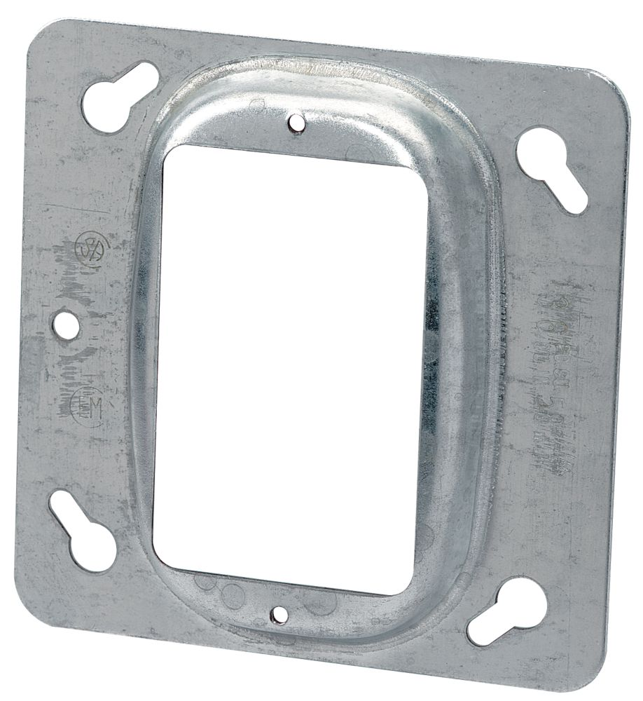 4 In. Square One Device 1/2 In. Raised Cover