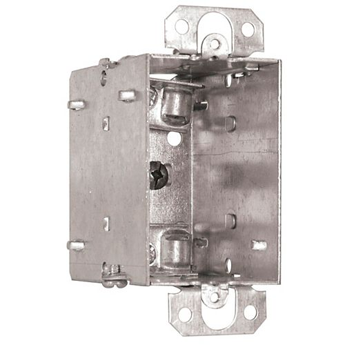 Iberville Device Box 3 Inches Deep, With Flush Ears, Gangable, NMD90 and BX90