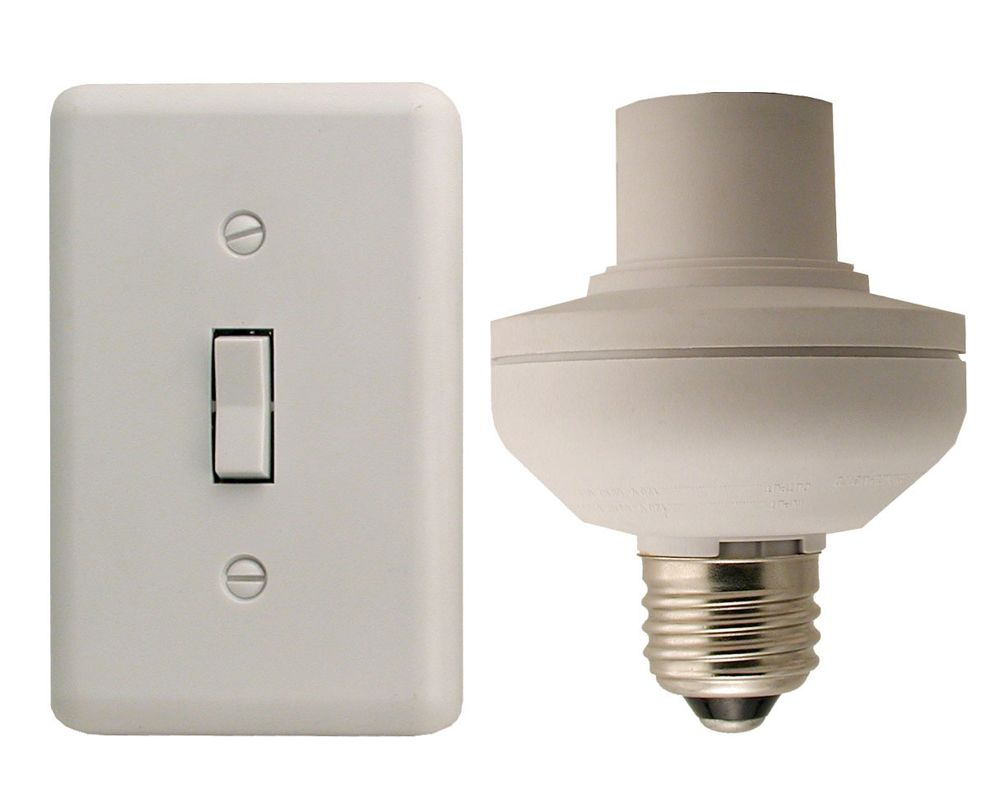 Square Wireless Remote Wall Switch