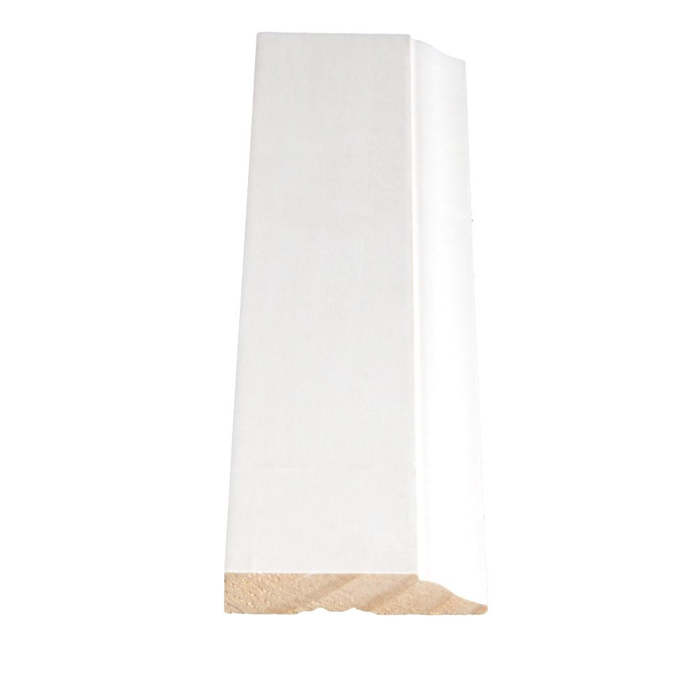 Primed Finger Joint Colonial Base 7/16 In. x 2-1/4 In. (Price per linear foot)
