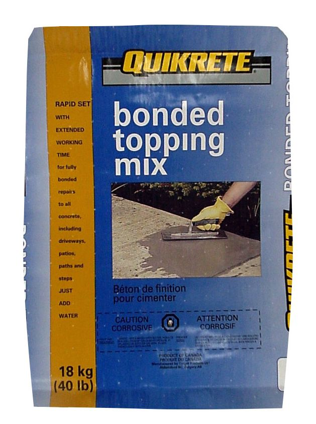 Bonded Topping Mix 18kg Bag