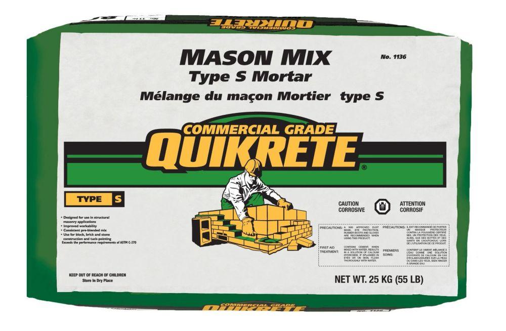 Mason Mix Type S 25kg