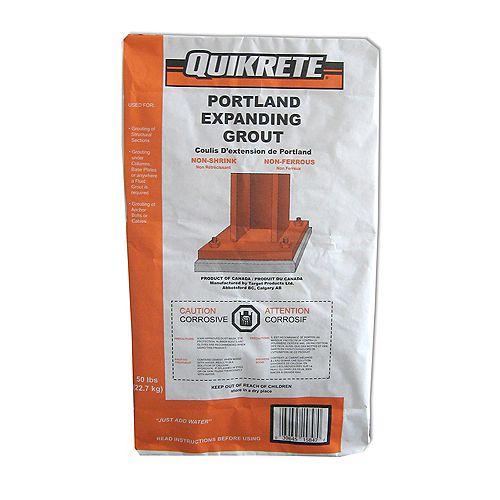 Quikrete Coulis expansible Portland 22,7 kg