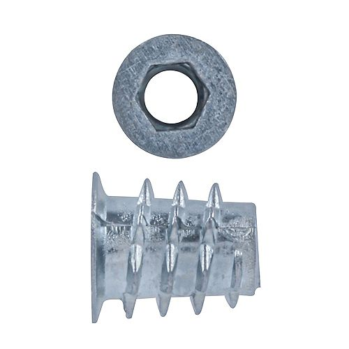 Paulin 1/4-20x13 Flanged Insert Nut
