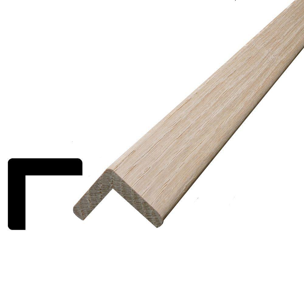 Oak Outside Corner 1-1/16 In. x 1-1/16 In. (Price per linear foot)