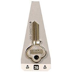 #76 Axxess Key - B&S Small Lock Key