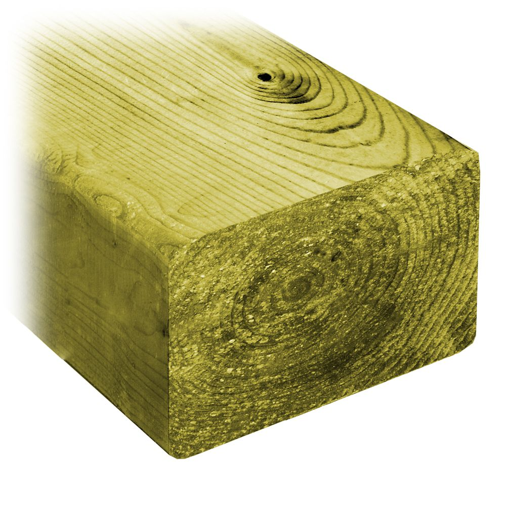 ProGuard 4 x 6 x 10 Feet Treated Wood