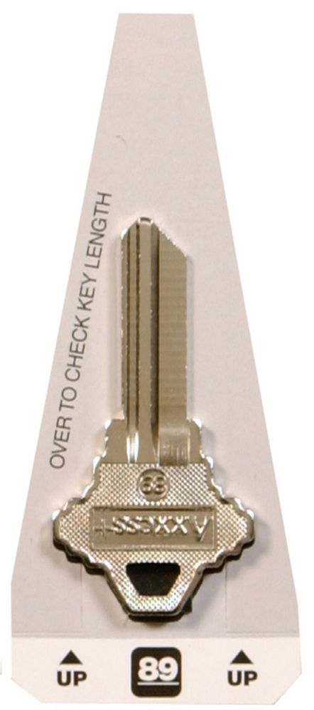 #89 Axxess Key - American Lock Key
