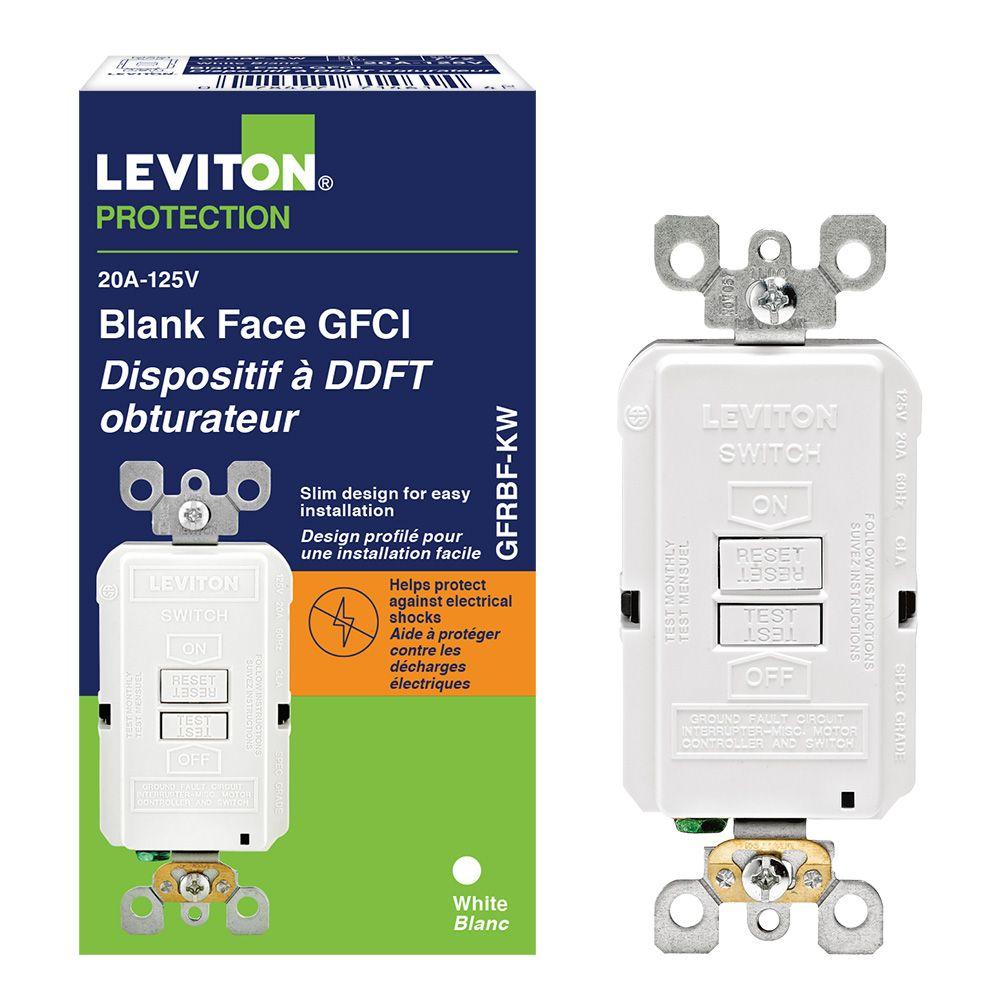 Smartlock GFCI Faceless 20 Amp Receptacle
