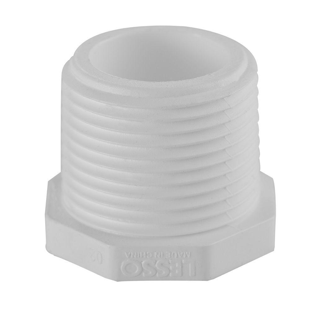3/4 In. PVC Schedule 40 Plug MIPT