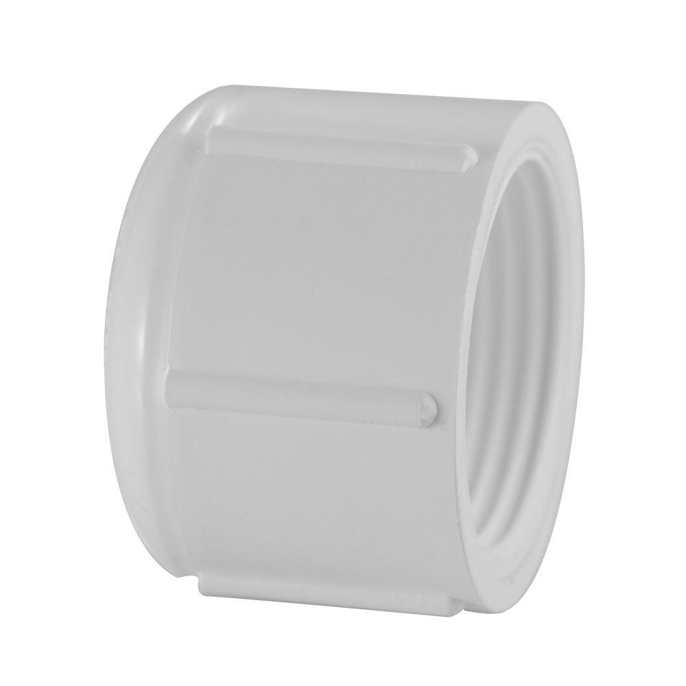 1/2 In.PVC Schedule 40 Cap FIPT