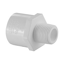 Lesso Pvc Reducing Male Adapter (Mipt X Soc) 1 inch X 3/4 inch