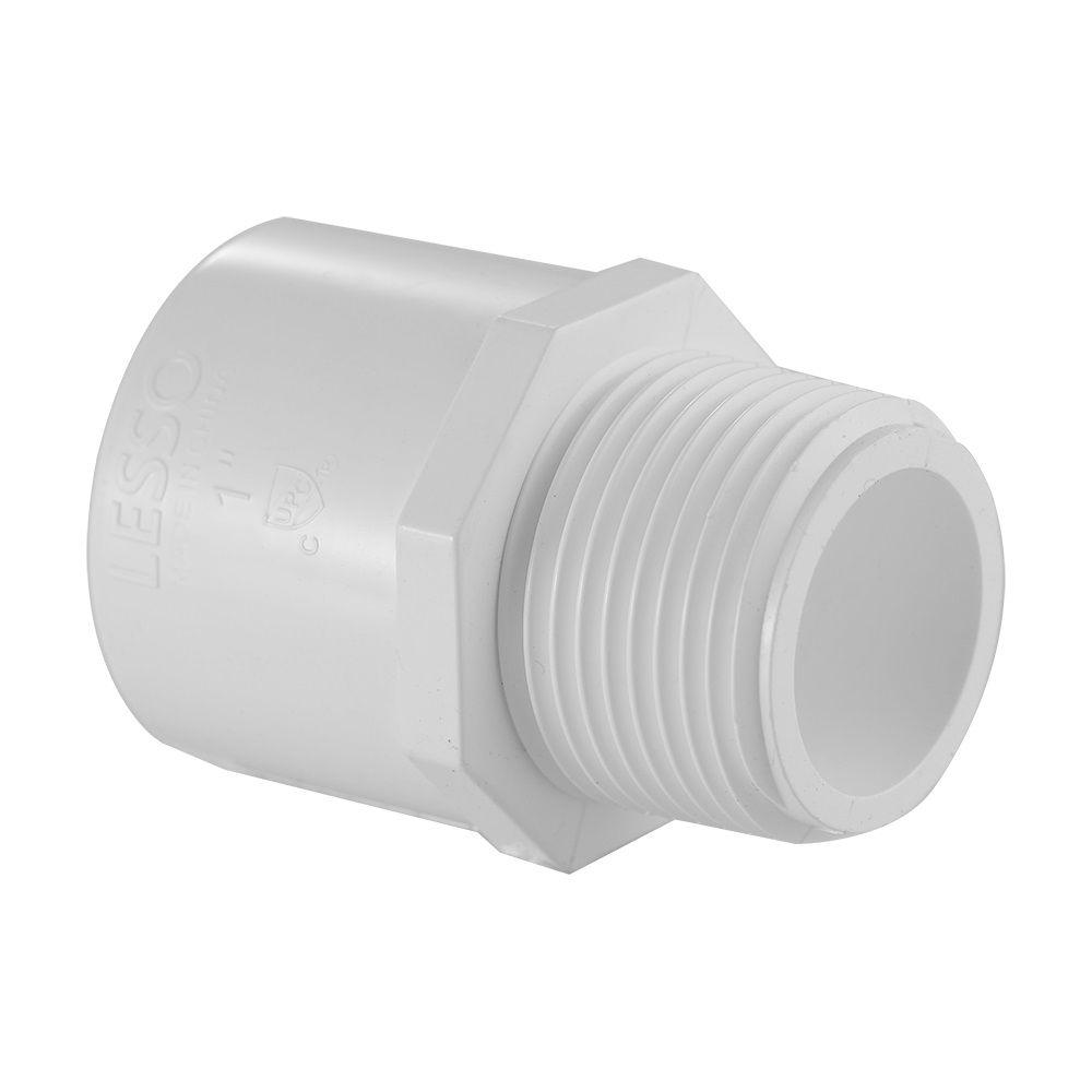 1/2 In. PVC Schedule 40 Male Adapter S x M