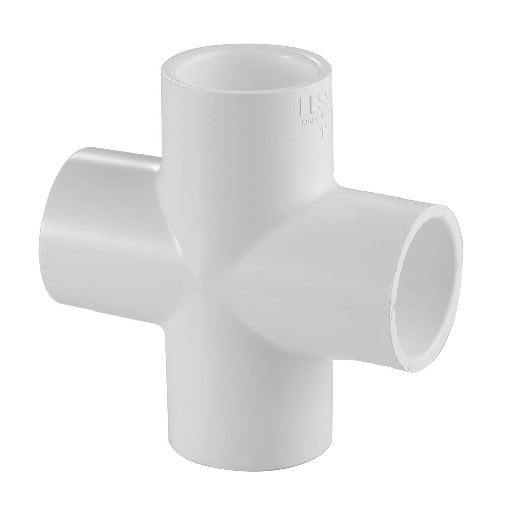 3/4 In. PVC Schedule 40 Cross All Slip
