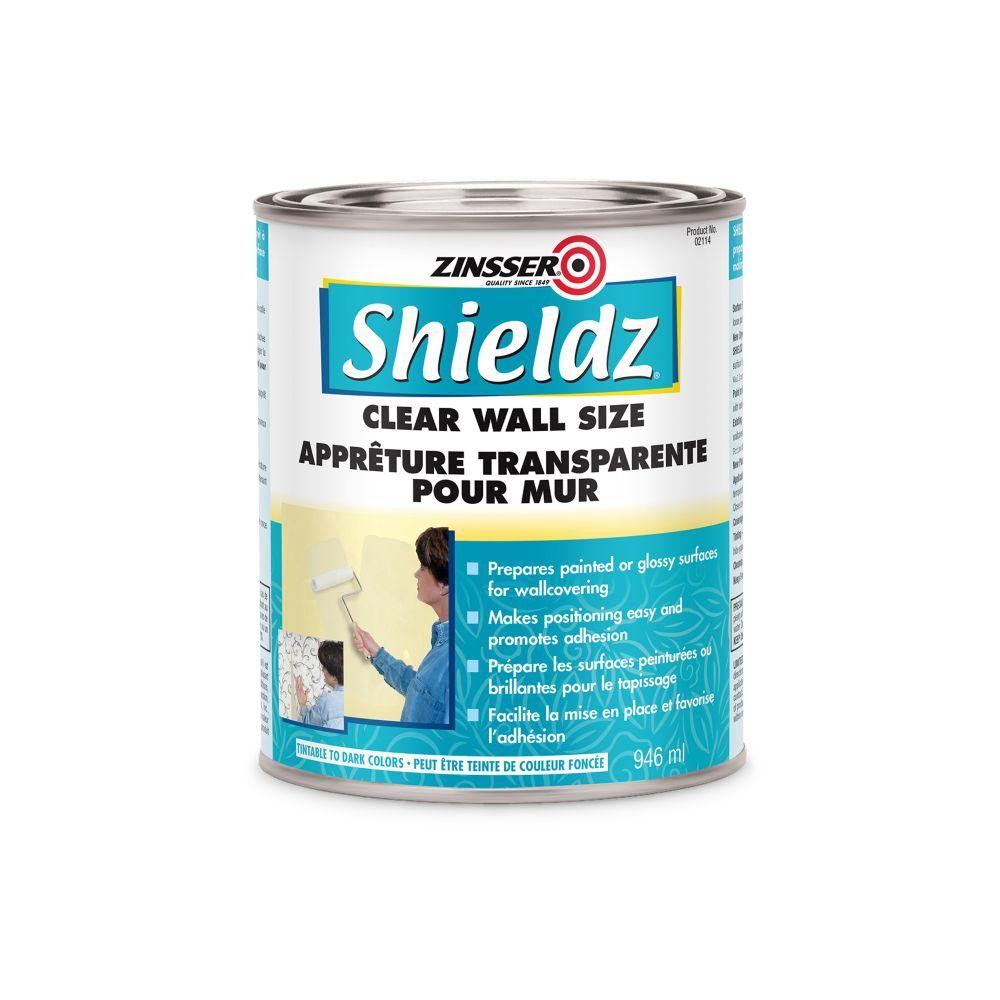 Shieldz Clair Acrylique - Apprêt / Scellant pour Papier Peint