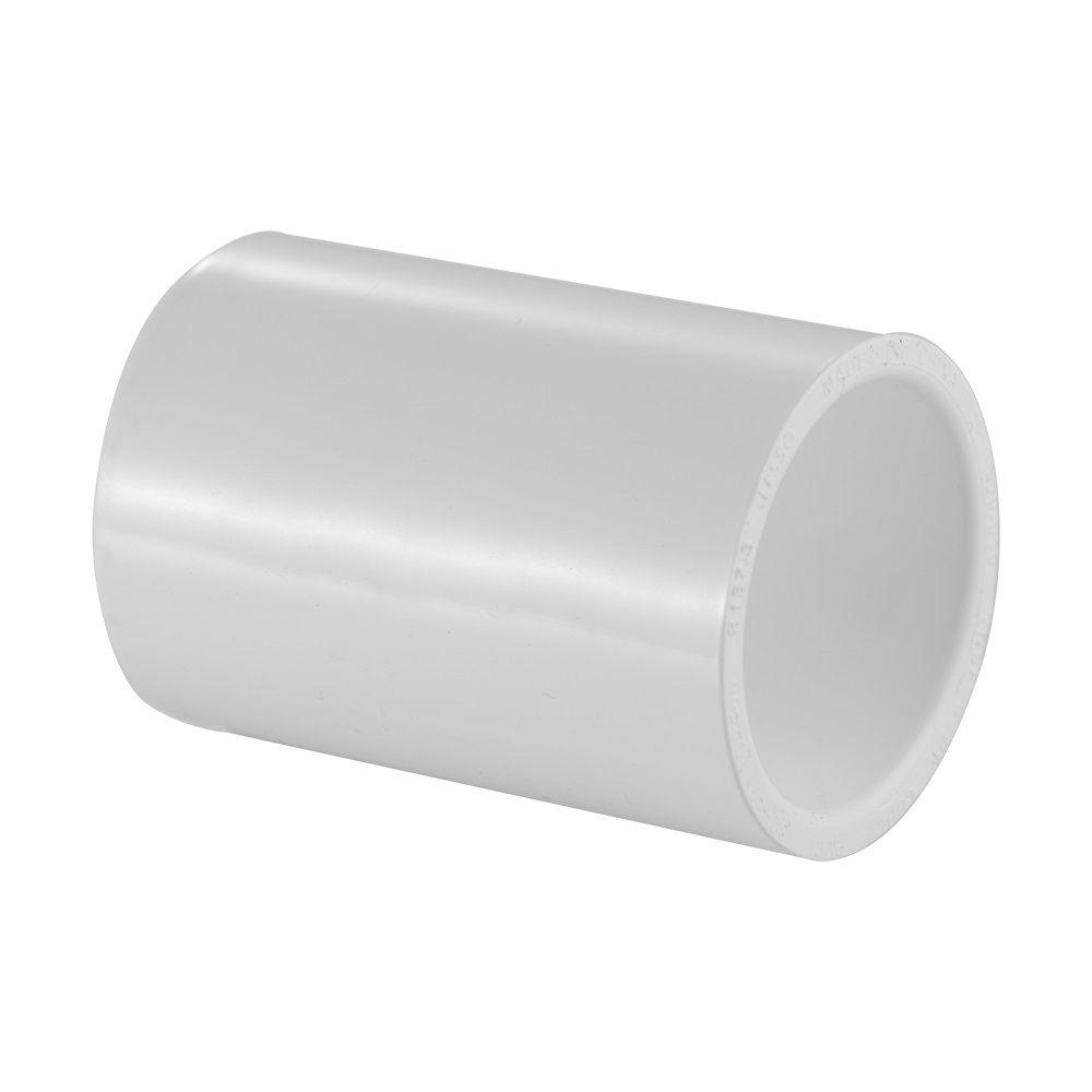 Manchon en PVC Schedule 40 de 1/2 po, entièrement coulissant