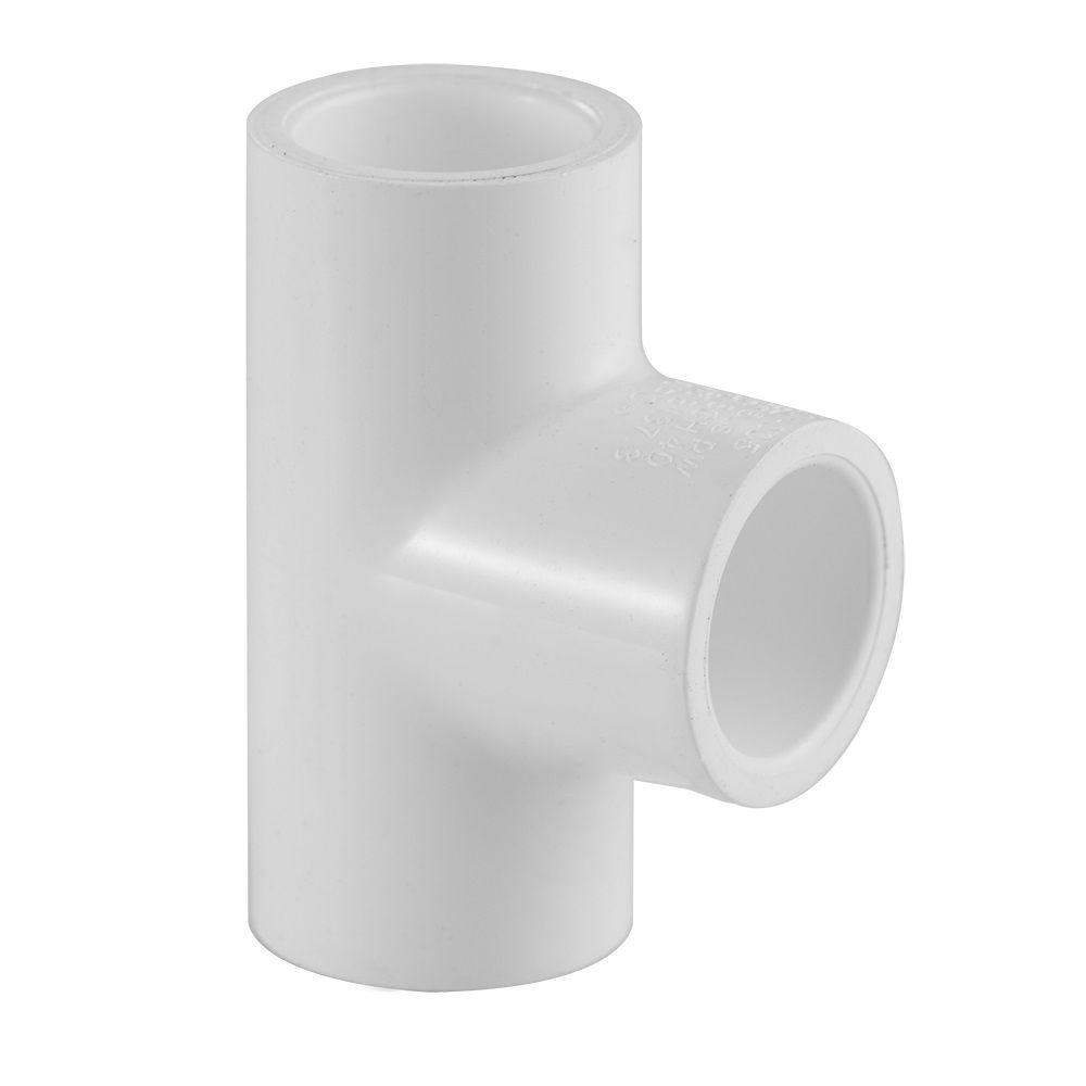 PVC Tee 3/4 Inch X 1/2 Inch SXS