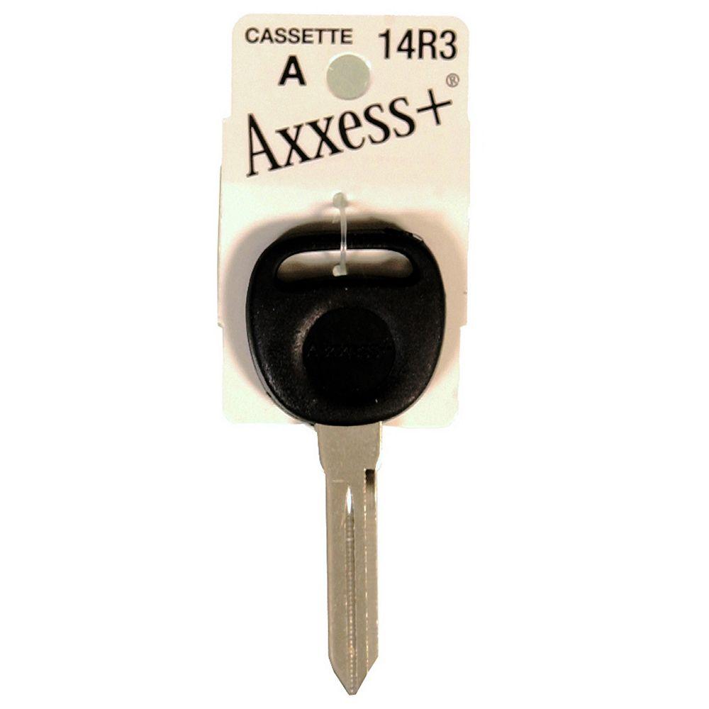The Hillman Group #14R3 Rubberhead Axxess Key