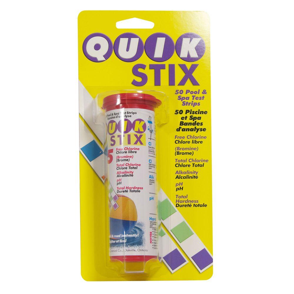 Quik Stix 5-Way Pool and Spa Test Strips