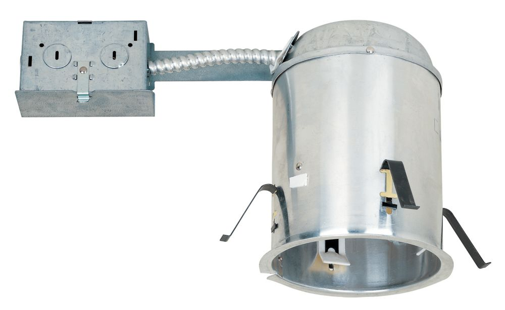 Commercial Electric 5 In. IC Remodel Airtight Housing