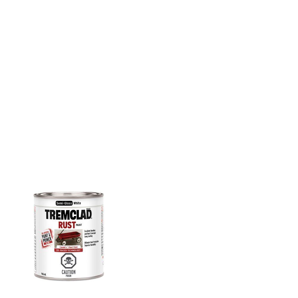 Peinture anti-rouille - Blanc semi-lustré (946ml)