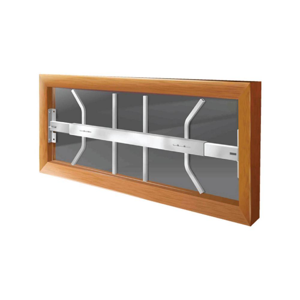 202 B 29-inch to 42-inch W Hinged Window Bar