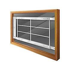 202 D 42-inch to 54-inch W Hinged Window Bar