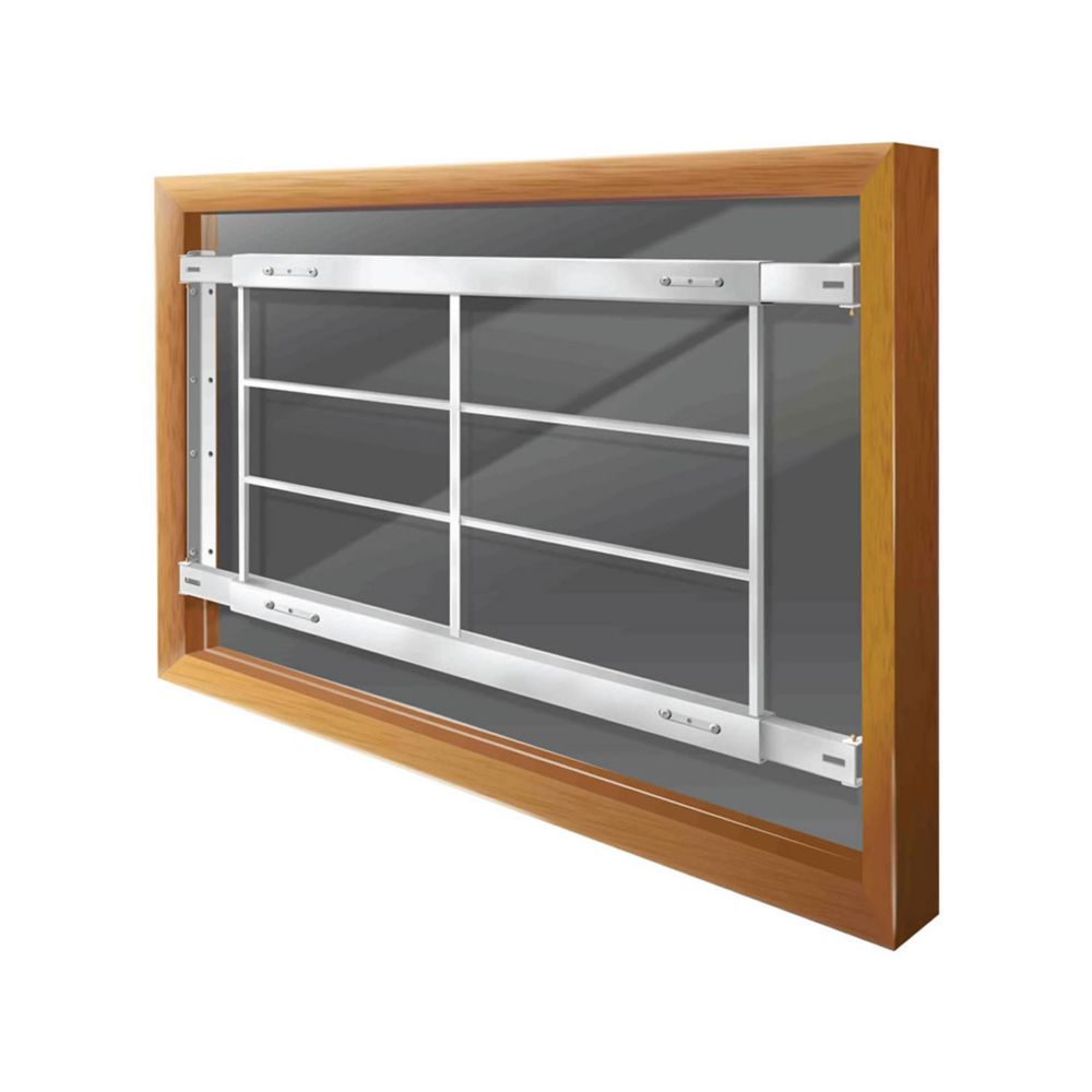 201 D Fixed Window Bar Fits windows 42-54 In. wide and 21-33 In. high