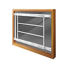 201 D 29-inch to 42-inch W Fixed Window Bar