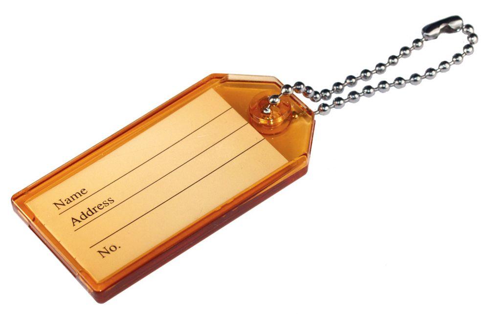 Plastic Key Id Tags