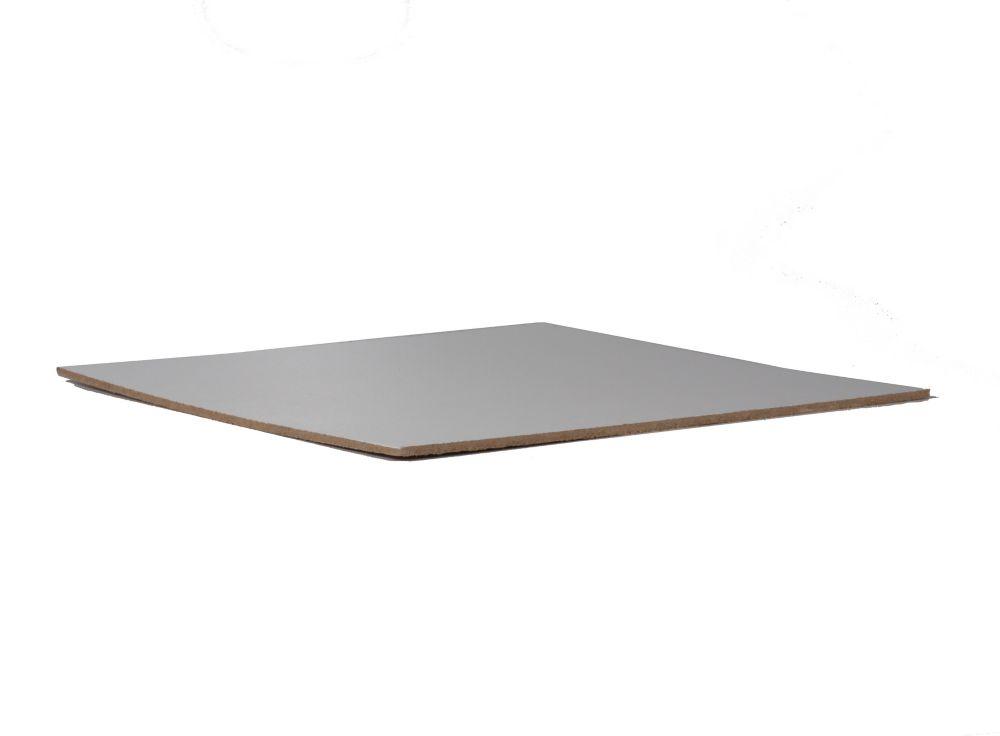 White Hardboard 1/4 x 4 x 8
