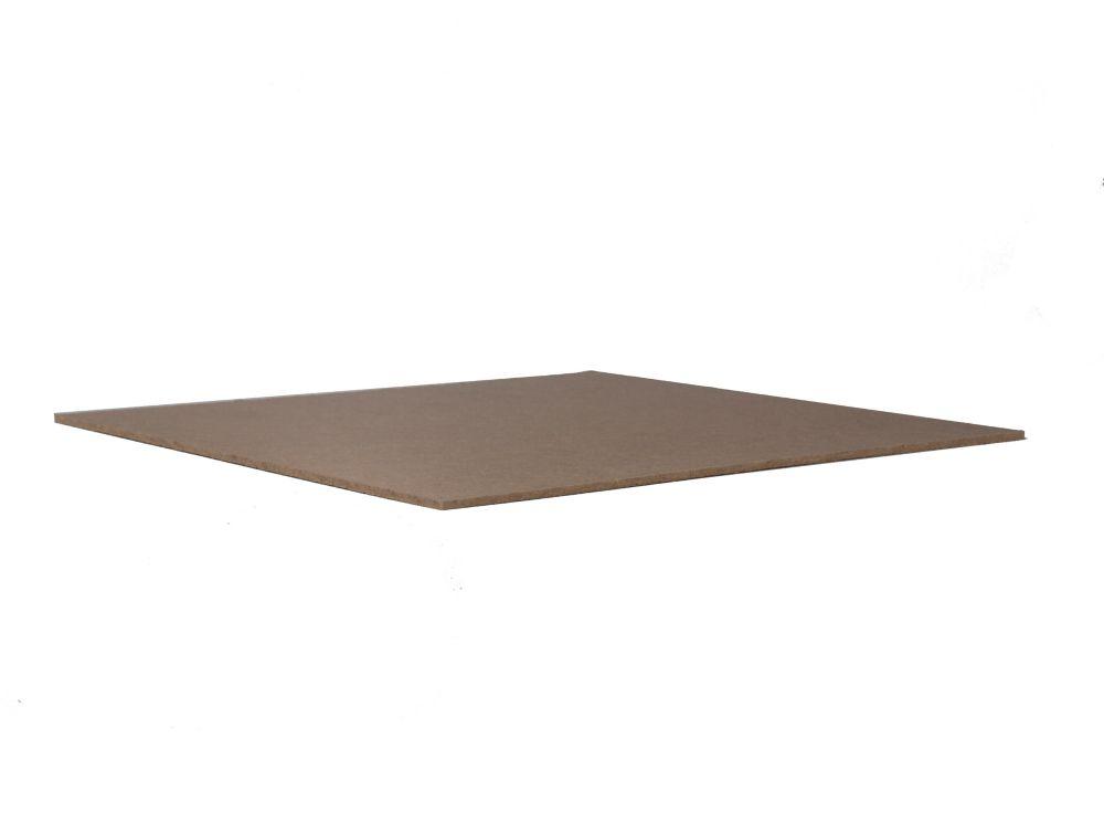 Panneaux de bois dur régulier 1/8 x 4 x 8