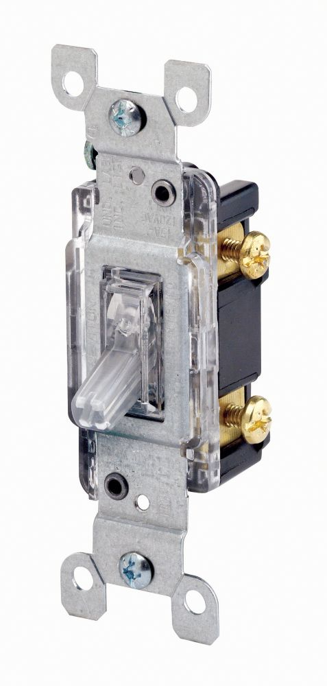 Single Pole Lighted Toggle Switch