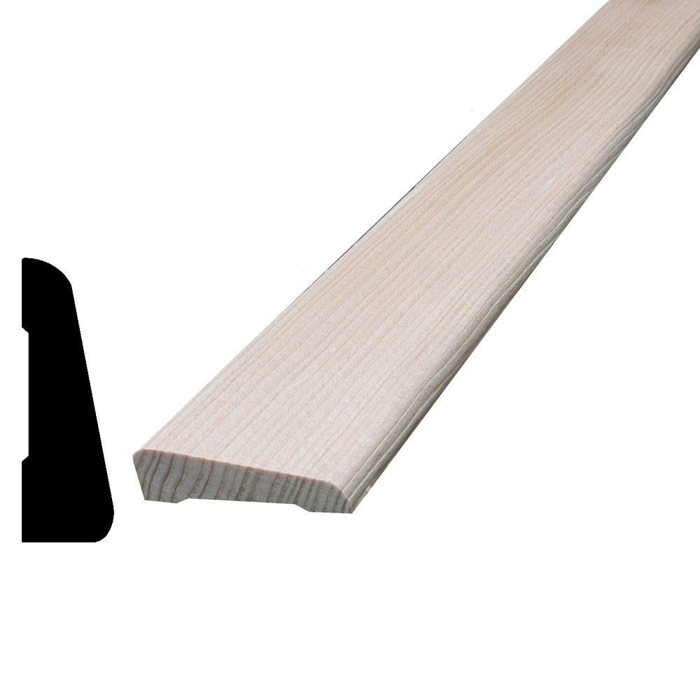 Alexandria moulding hemfir bevel casing 7 16 in x 1 7 16 for 7 home depot