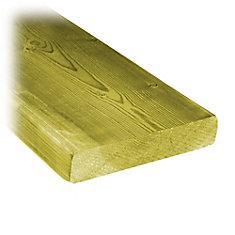 5/4x6x16 Treated Wood Decking