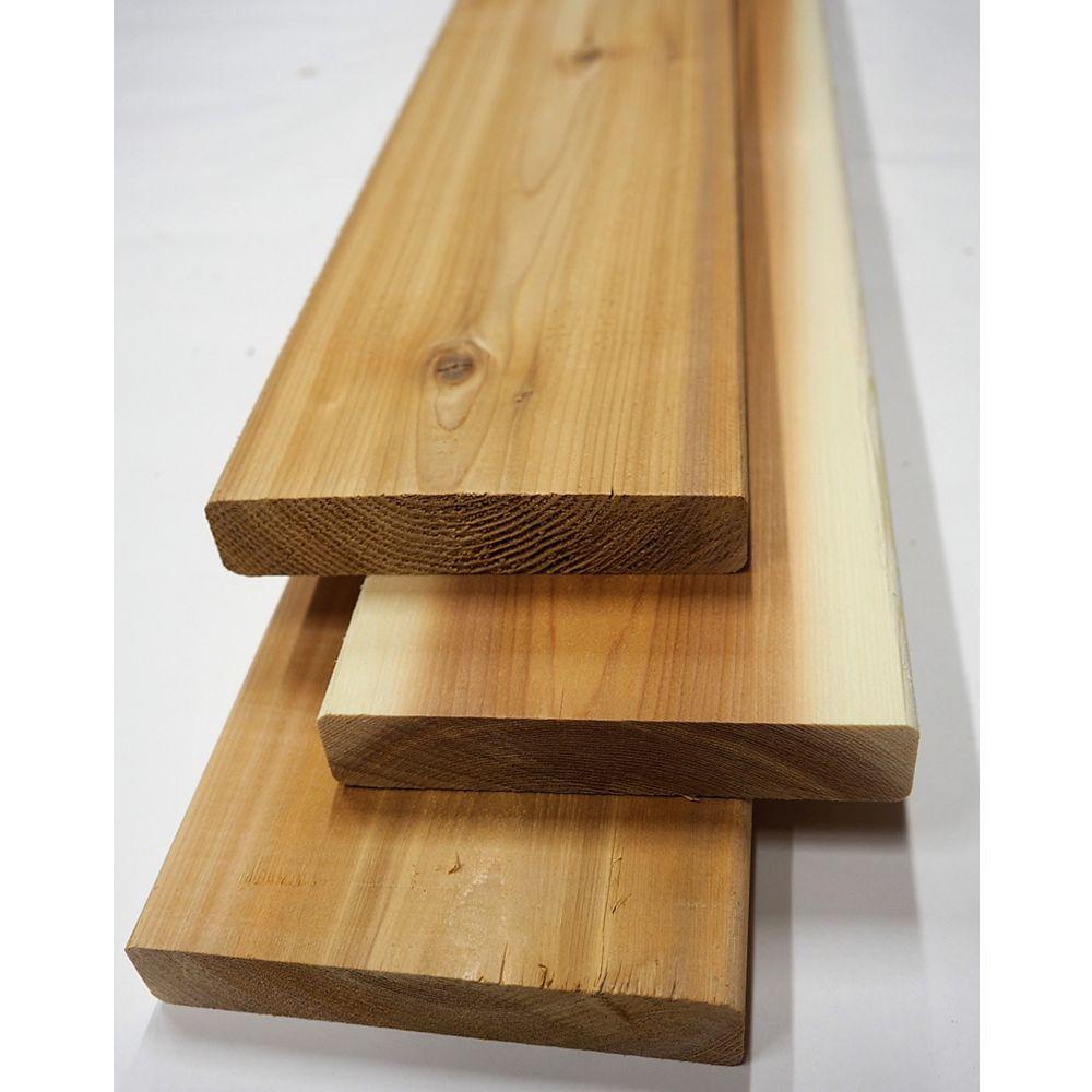 Porcupine 5/4-inch x 6-inch x 10 ft. Premium Cedar Deck Board