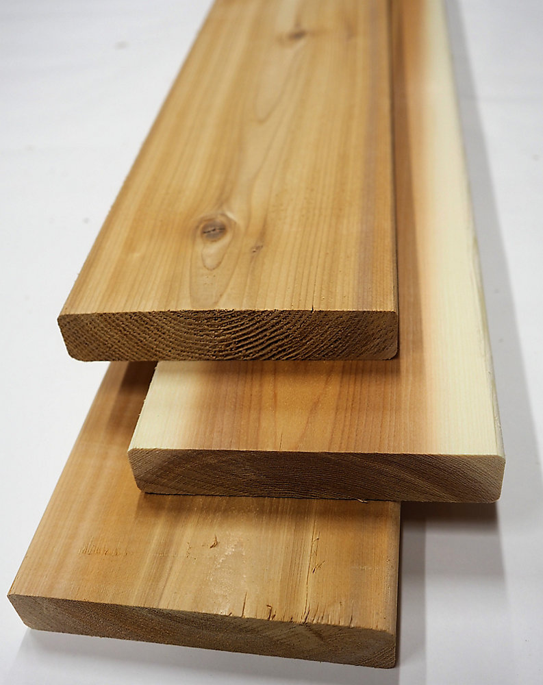 5/4-inch x 6-inch x 12 ft  Premium Cedar Deck Board