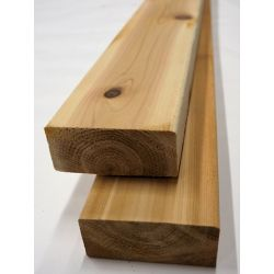 Porcupine Premium 2-inch x 4-inch x 8 ft. Western Red Cedar Deck Board