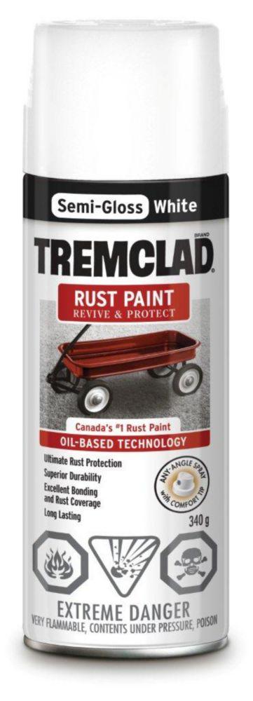 Rust Paint - Semi Gloss White (340g Aerosol)