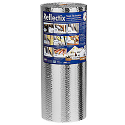 Reflectix 24-inch x 25 ft. Double Reflective Insulation with Staple Tab